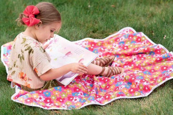 floral play mat